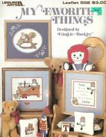 My Favorite Things RAGGEDY ANN & More in Counted Cross Stitch Leisure Arts 502