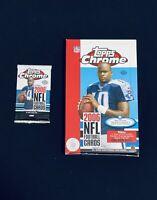 2006 Topps Chrome Hobby Football Pack (1)🔥Possible Tom Brady Refractor 🔥