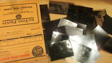 VINTAGE 1940'S OHIO COLLEGE GIRLS PHOTOGRAPH NEGATIVES RISQUE POSES & MORE !!!