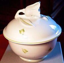 EXQUISITE Authentic New LALIQUE Sucrier Muguet Primavera Collection Bowl signed