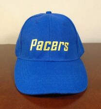 Indiana Pacers Blue Cap Hat with Gold Lettering Adjustable One Size Fits All