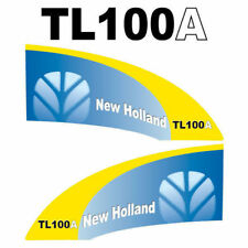 New Holland TL100A (2006) tractor decal aufkleber adesivo sticker set
