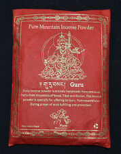 Guru Rimpoche  Gold Edition 100% Natural Himalaya Incense Powder Pure Incense