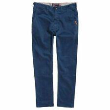 Pantaloni da uomo chino blu