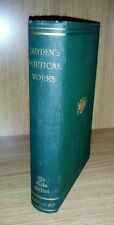 Poetical Works of John Dryden Globe Edition 1894