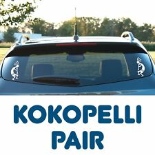 Kokopelli - A pair of vinyl decals, Flute Player, Tribal, Indian, Southwestern