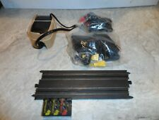 HO SCALE ELECTRIC  RACING 2 CONTROLLERS  N.I.P.  POWER PACK AND CONNECTOR TRACK