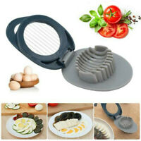 1 Pcs Egg Cuter Pidan Splitter Steel Egg Cut Slicer ABS Innovative Tool Fancy~!~