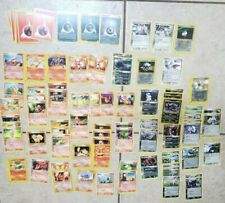 Pokemon Cards Custom Deck ONLY Vintage Some Rares 80+ Card Fire & Darkness