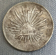 1882 Zs JS MEXICO 8 REALES SILVER VERY NICE COIN