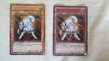 YuGiOh TCG Ryko Lightsworn Hunter GLD4 EN024 & BP01EN063 Lightly Played