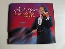 André RIEU : le Monde en fete - CD 2004 PHILIPS UNIVERSAL 983 080.6