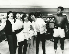Box Muhammad Ali with Beatles Photo Picture Print