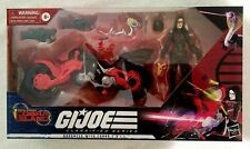 G.I. Joe Classified Series Baroness with Coil Motorcycle *new*