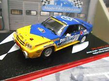 OPEL Manta B 400 Rallye Spain Llanes #6 Arque Philips 1986 Hella IXO Alt SP 1:43