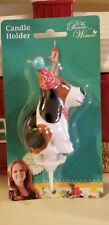 NEW! PIONEER WOMAN CHARLIE BIRTHDAY CANDLE HOLDER~NEW! HARD TO FIND!