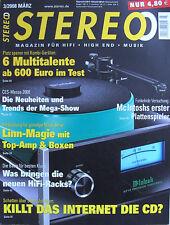 Stereo 3/08 Amphion Prio 520, Visaton Concorde, Linn Majik-i/Majik 140, AVM D6M