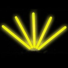 "25 6"" Glowsticks Glow Light Sticks Party Favors YELLOW"