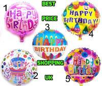 """Foil 18"""" inch Happy Birthday Balloon Large Helium Balloons Ballon Kid's Birthday"""