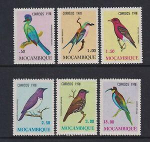Mozambique - 1978, Birds set - MNH - SG 705/10