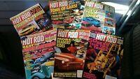 Hot Rod Magazine lot of 6 magazines Jul Aug Sep Oct Nov Dec 1992