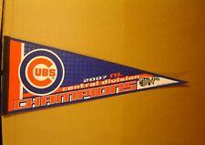 2007 Chicago Cubs Central Division Champions MLB Baseball Pennant
