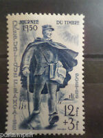 FRANCE 1950, timbre 863, JOURNEE TIMBRE, FACTEUR, POSTMAN, neuf**, VF MNH STAMP