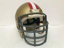 Used Vintage Bike Air Football Helmet & Facemask - 1980's San Francisco 49ers