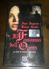 """Videocassetta/VHS """" IL FANTASMA DELL'OPERA """" Dario Argento/D.O.C."""