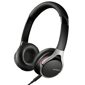 Sony MDR 10RC Headphones Overhead Light Weight Folding Black 3.5mm Stereo Bass