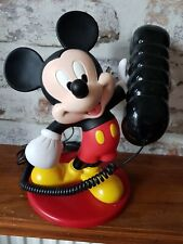 More details for disney mickey mouse telephone by mybelle press button dialing.cheapest on ebay!!