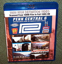 "20158 BLU-RAY HD TRAIN VIDEO ""PENN CENTRAL 6"" VINTAGE FILM"