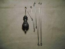 Comtoise Birnen Pendel mit mehrteiliger Drahtpendelstange - Comtoise pendular