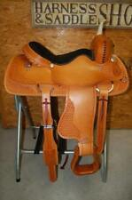 "G.W. CRATE 16"" CUSTOM CUTTING SADDLE PENNING MADE IN ALABAMA NEW FREE SHIPPING"