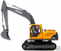 Cararama EC240B Volvo EC240B Excavator 1/87th Scale = HO Gauge New Boxed