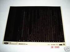 FORD MONDEO 97 Agosto 1996on RICAMBI MICROFICHE SET COMPLETO DA 1 - OTTOBRE 1999