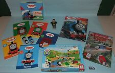 Thomas Tank Engine and Friends bundle of books, jigsaw and models. Lot 893