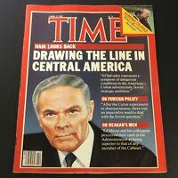 VTG Time Magazine April 2 1984 - Ed Meese / Ronald Reagan / El Salvador