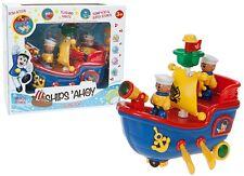 CARTOON TOOT-TOOT CAPTAIN SAILING BOAT Kids Action Toy Birthday Gift Box UK