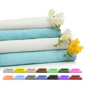 4 Stück Handtuch Duschtuch Badetuch Gästetuch Strandtuch 100% Baumwolle 500g/m²