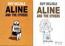 Guy Delisle SIGNED AUTOGRAPHED Aline and the Others +Sketch *RARE* SC 1st Ed/1st