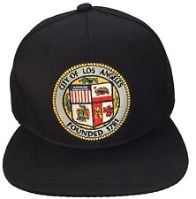 City Of Los Angeles Founded 1781 Hat Black Snap back Adjustable City Of La Hat