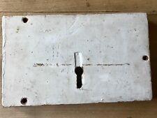 Antique Rim Lock Large Church Old Gothic Original Door Hardware
