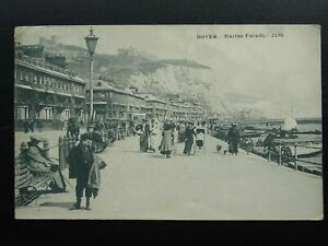 Kent DOVER Marine Parade ANIMATED SCENE c1906 Postcard by Victoria Series 2186