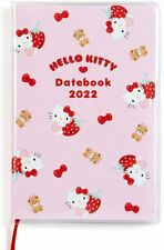 Hello Kitty Sanrio Pocket Date Book 2022 Diary Schedule Planner Official Kawaii