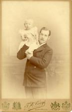 Constantin, Kronprinz von Griechenland und Prinz Georg Vintage silver print.Ge