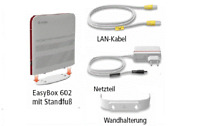Vodafone EasyBox 602 DSL Router mit WLAN /LAN - OVP!! Händler!!