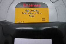 KODAK 5369 B&W BULK FILM HIGH DEFINITION/CONTRAST SIMILAR TO TECH PAN 25ftx35mm