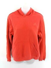 ADIDAS Womens Hoodie Jumper 18 Pink Cotton & Polyester