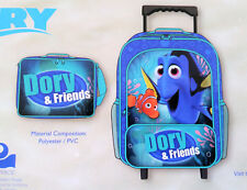 Finding Dory Rolling Luggage Set Travel School Overnight Camping Wheelie Bag